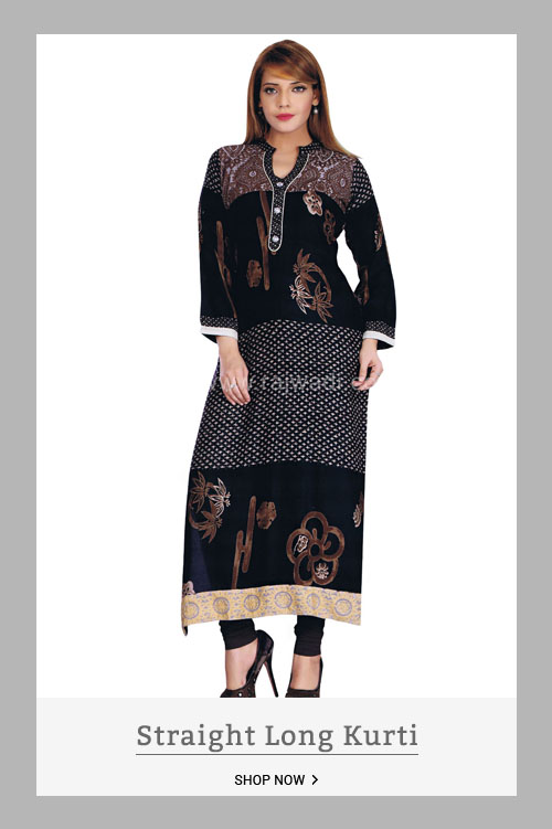 Straight Long Kurti