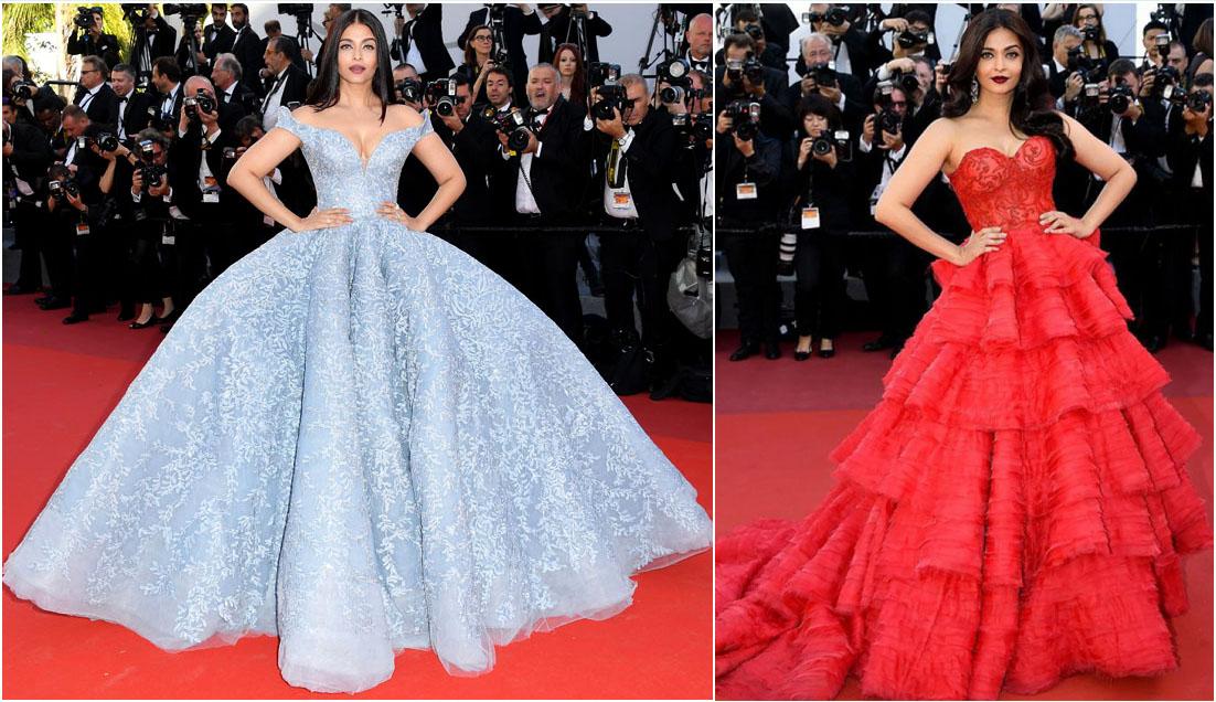 Ashwariya Rai Bachchan Cannes look 2017