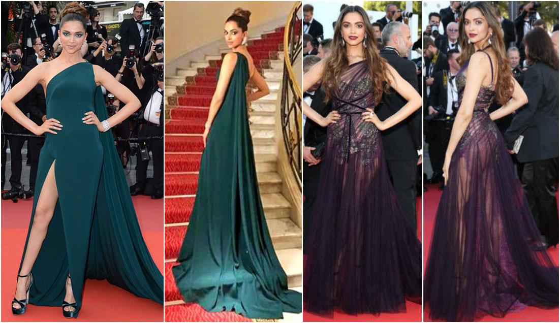Deepika Padukone Cannes look 2017