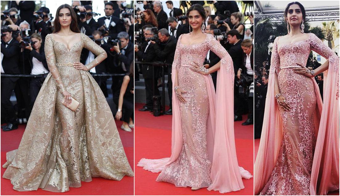 Sonam Kapoor Cannes look 2017