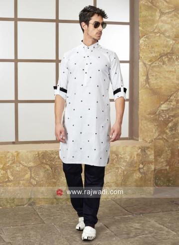 white-color-cotton-silk-kurta-set-3827-800x1100